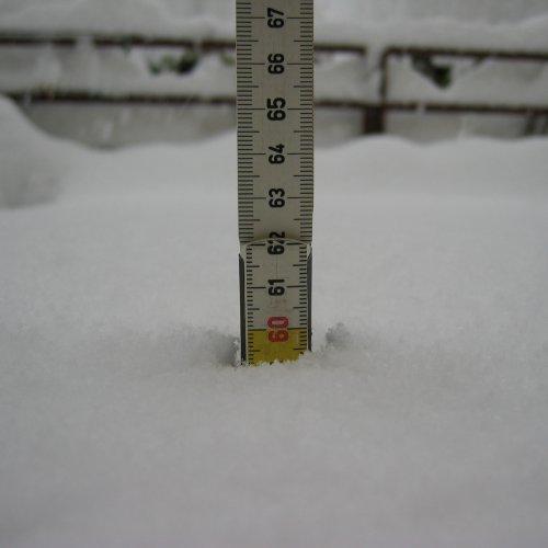 mysnowmaps - Come fare una misura di neve