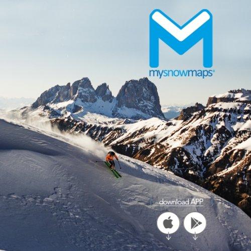 mysnowmaps - La neve dell'arco alpino a portata di mano grazie alle info della app Mysnowmaps