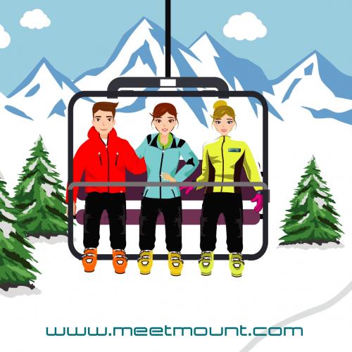 mysnowmaps - Meetmount, il sito per trovare compagni di sci e snowboard
